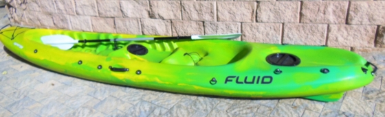 FLUID SYNERGY DOUBLE KAYAK AND ACCESSORIES