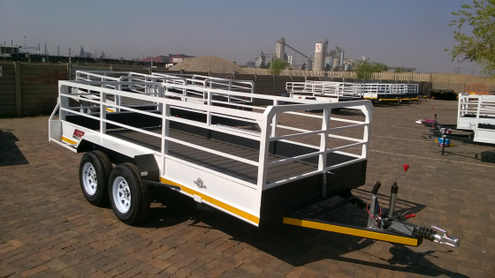 Big Sale On 4M 3ton utility Trailers Only Today