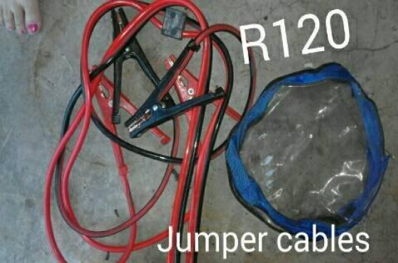 jumper cables in Gardening Outdoors and DIY in South Africa Junk Mail