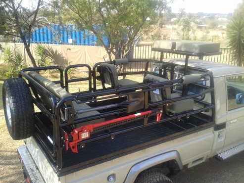 Land Cruiser Hunting rig