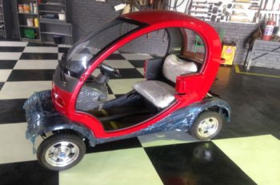2016 NEW Shape golf cart