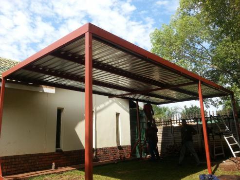 Carport for sale Johannesburg 0761755770, Steel carport Protea ...