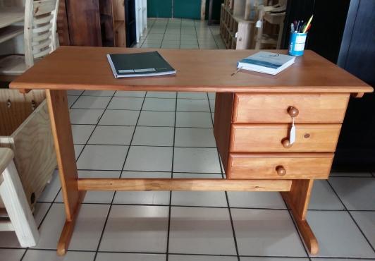 3 Drawer Pine Desk -