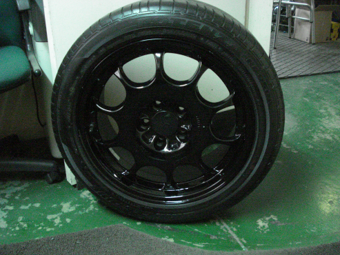 "17"" Spare wheel for E class S class Vito"