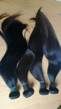 100 % Brazilian Virgin human hair at a very attractive price