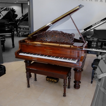Grand pianos for sale.