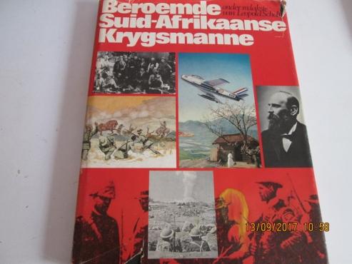 BEROEMDE SUID-AFRIKAANSE KRYGSMANNE - Onder redaksie van Leopold Scholtz