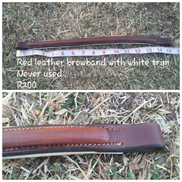 Various tack items for sale