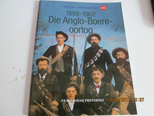 1899 - 1902 DIE ANGLO- BOERE OORLOG - FRANS JOHAN PRETOIUS