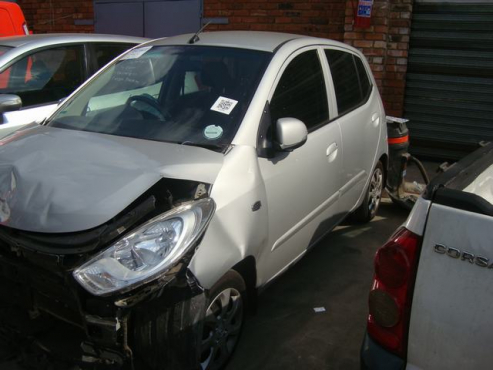 salvage/accident hyundai i10