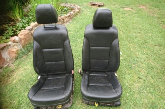 Electric car seats