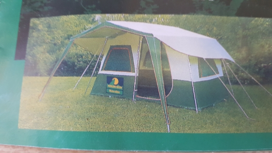 Howling Moon 6 sleeper canvas tent