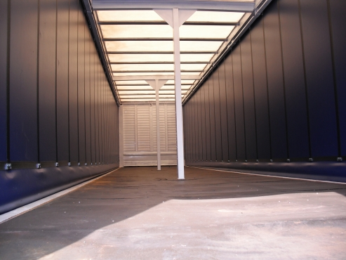 Triaxle curtain side for sale