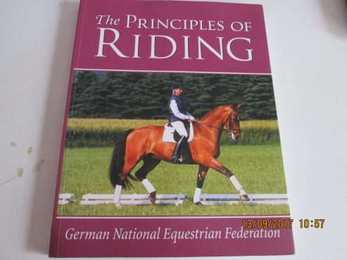 THE PRINCIPLES OF RIDING - GERMAN NATIONAL EQUESTRIAN FEDERATION