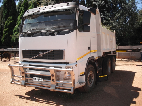 Volvo 10 cube tipper for sale