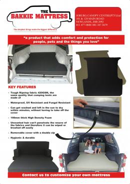 the bakkie mattress