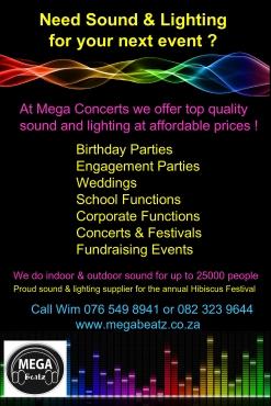 Affordable DJ Sound & Lighting Services