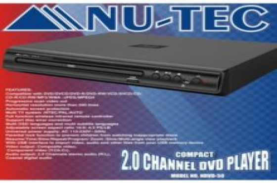 NU- TEC DVD player