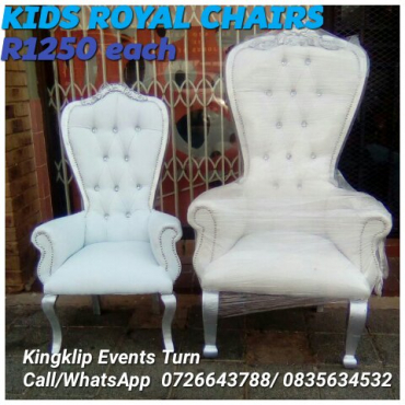 Kids royal chairs