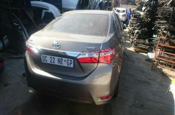 2015 Toyota Corolla Stripping For Spares