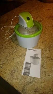 Ice Cream Maker,