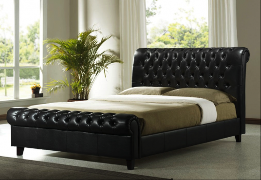 Scorpio Sleigh Bed From Chivalry Designs For R5200 For Double