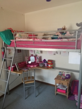 Bunk Bed With Study Table And Chair Junk Mail