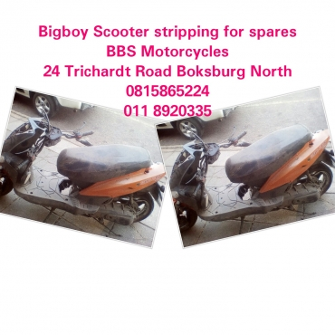 Bigboy Scooter stripping for spares