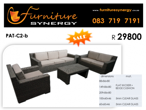 NEW Outdoor Patio Furniture_R 29800 per set