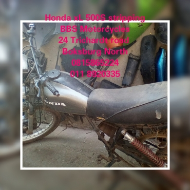Honda XL 500 S Stripping for spares