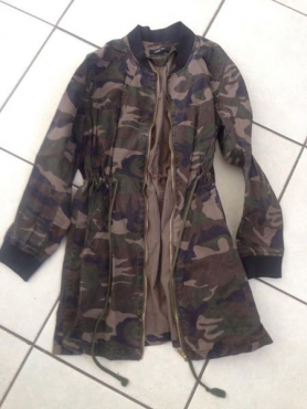 Army themed ladies jacket