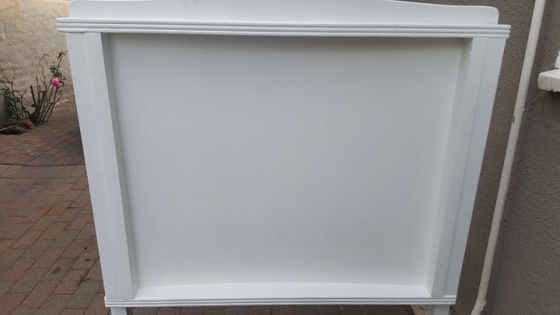 Sleigh Bed - single size