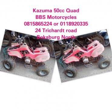 Kazuma 50cc Quad stripping for spares