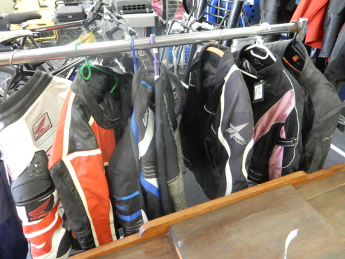 Variety of Motorcycle Jackets