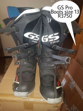 GS pro boots size 13