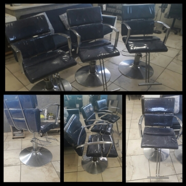 SALON HYDRAULIC CHAIRS