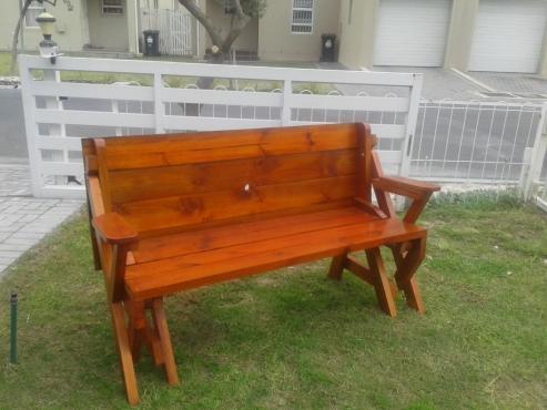 2 IN 1 folding bench