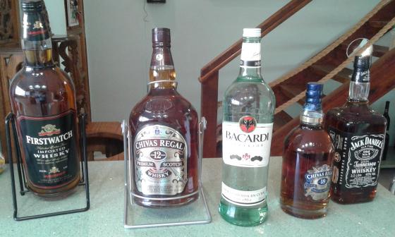 Bars for sale plus rare bottles of whisky