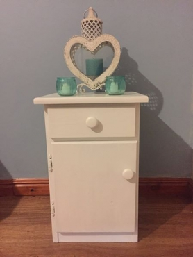 Stunning small bedside cabinet