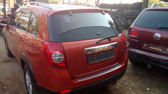 Chevrolet Captiva Stripping all Interior and Exterior parts. | Junk Mail