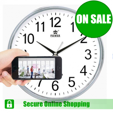 Spy Wall Clock for Smartphones