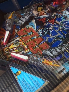 Star Wars Pinball Machibe