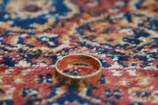 Wedding Band Men Genuine 9ct GOLD RING
