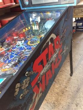 Star Wars Pinball Machibe