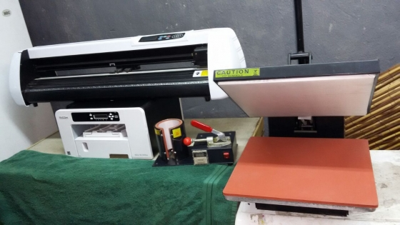 Sublimation printer,t-shirt heat press,mug press,Ruji Vinyl