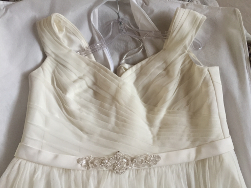 Wedding Dress Size 38