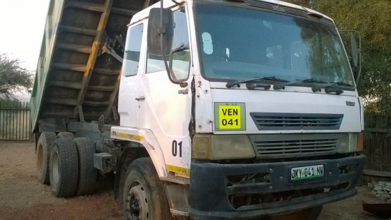 FAW 28/280 10 meter tipper truck for sale