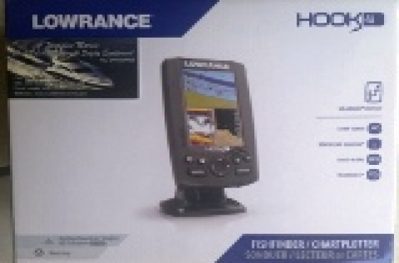 CRAZY SPECIAL ON LOWRANCE HOOK 4 FISH FINDER & GPS WITH 83/200