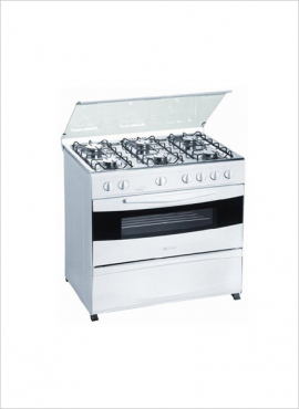 4 AND 6 PLATE GAS STOVE AND OVEN