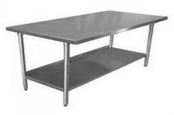 S/Steel Table - Plai
